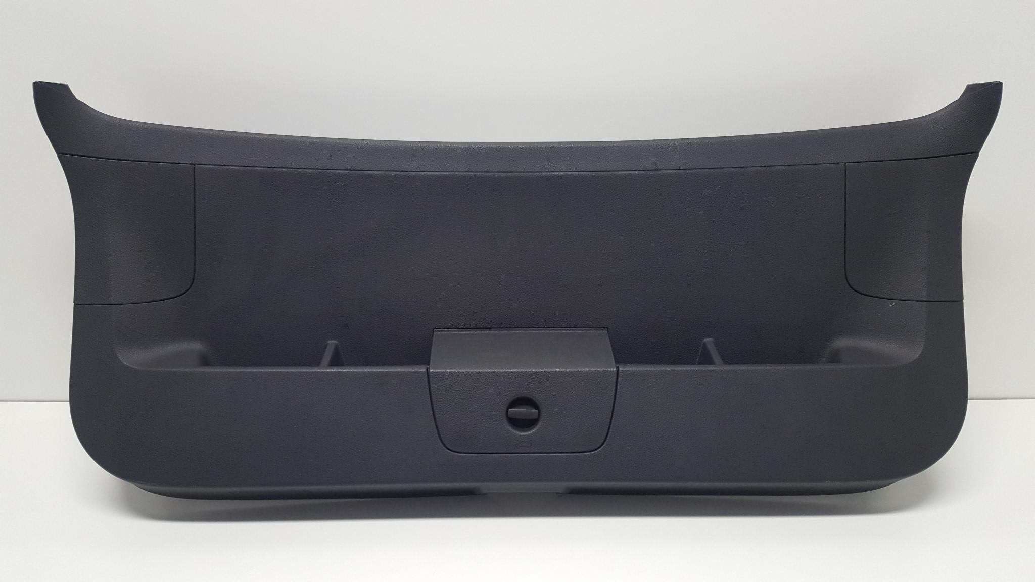 original vw golf 7 vii heckklappenverkleidung verkleidung. Black Bedroom Furniture Sets. Home Design Ideas