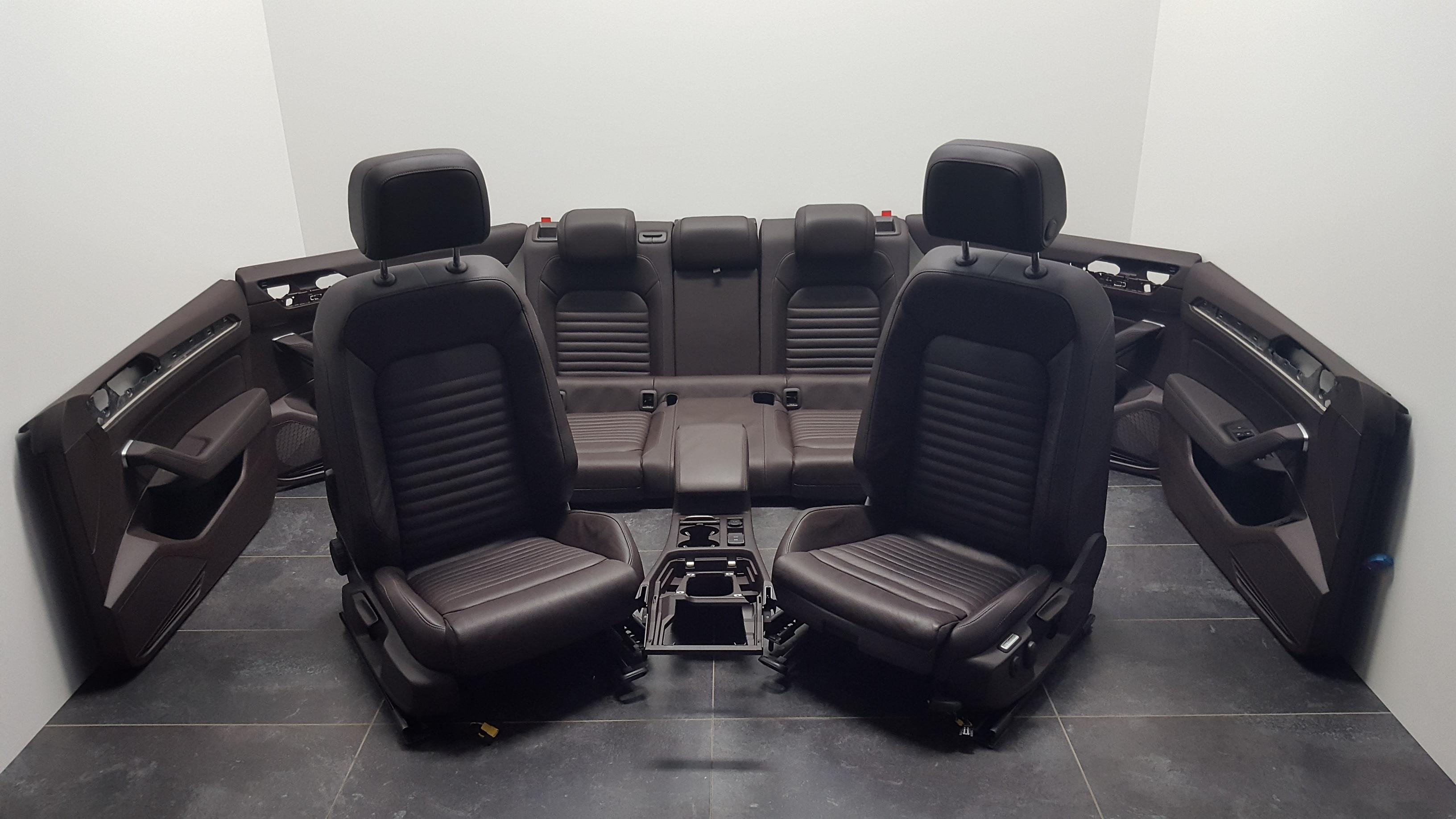 Original VW Passat B8 3G variant Innenausstattung Ausstattung Sitze ...