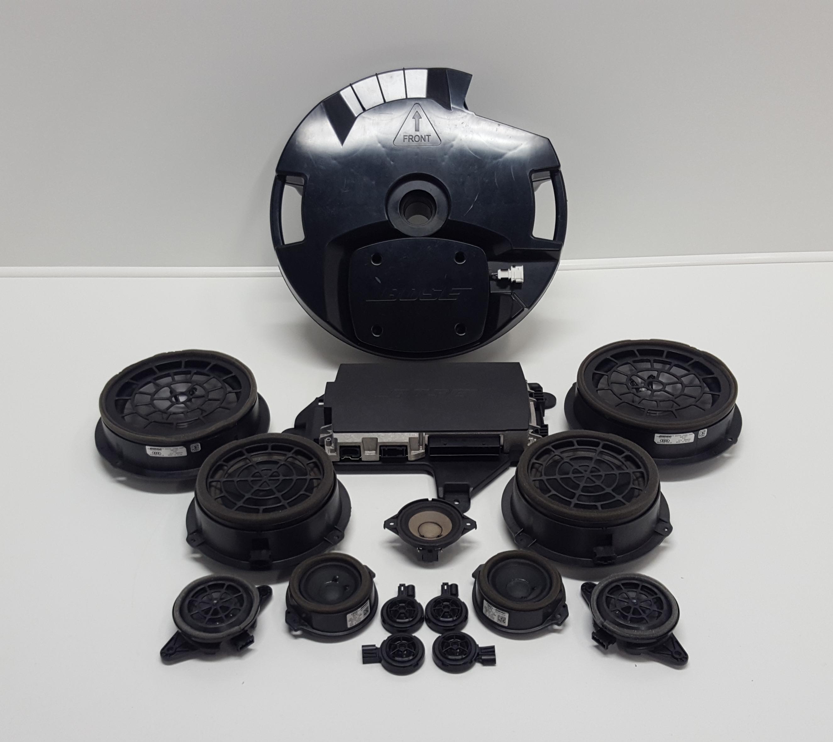 Original Audi Q3 8U Bose Soundsystem Verstärker Subwoofer